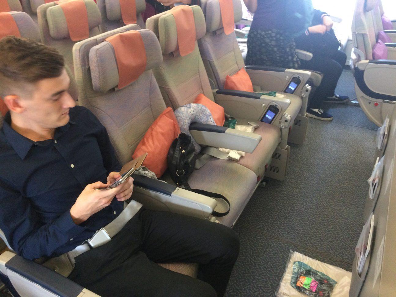 Připojte se s letuškou