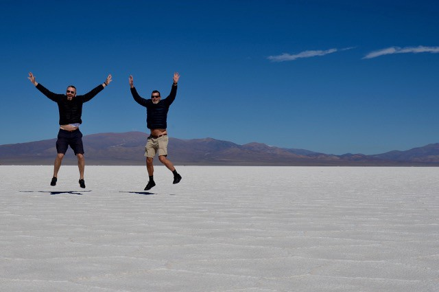 Salinas Grandes in Jujuy, Argentina—Images courtesy of Martti and Fridtjof