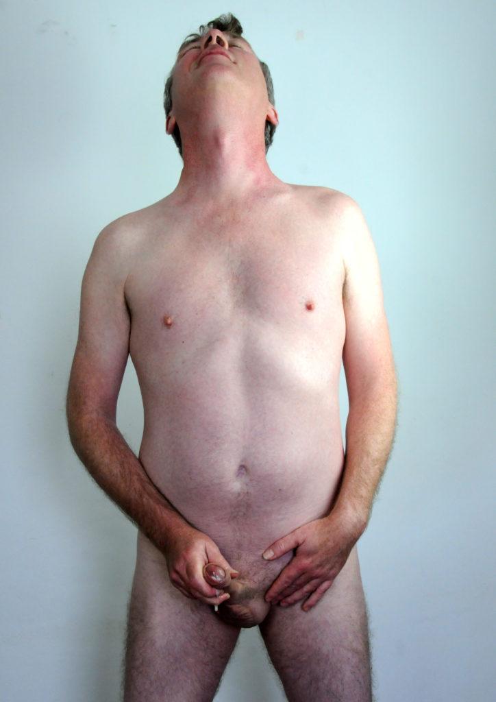 Richard Crowe strips, masturbates and cums (8)