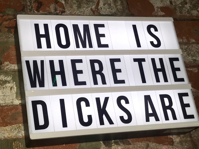 Adonis Lounge sign (image supplied)