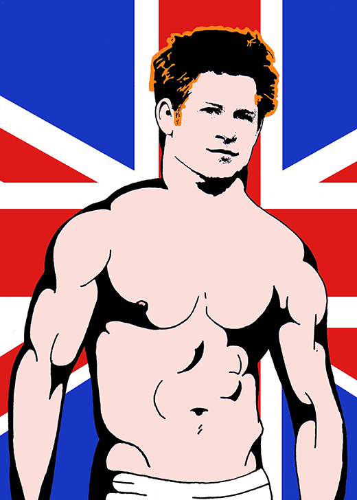 Prince Harry by Mike Bliss