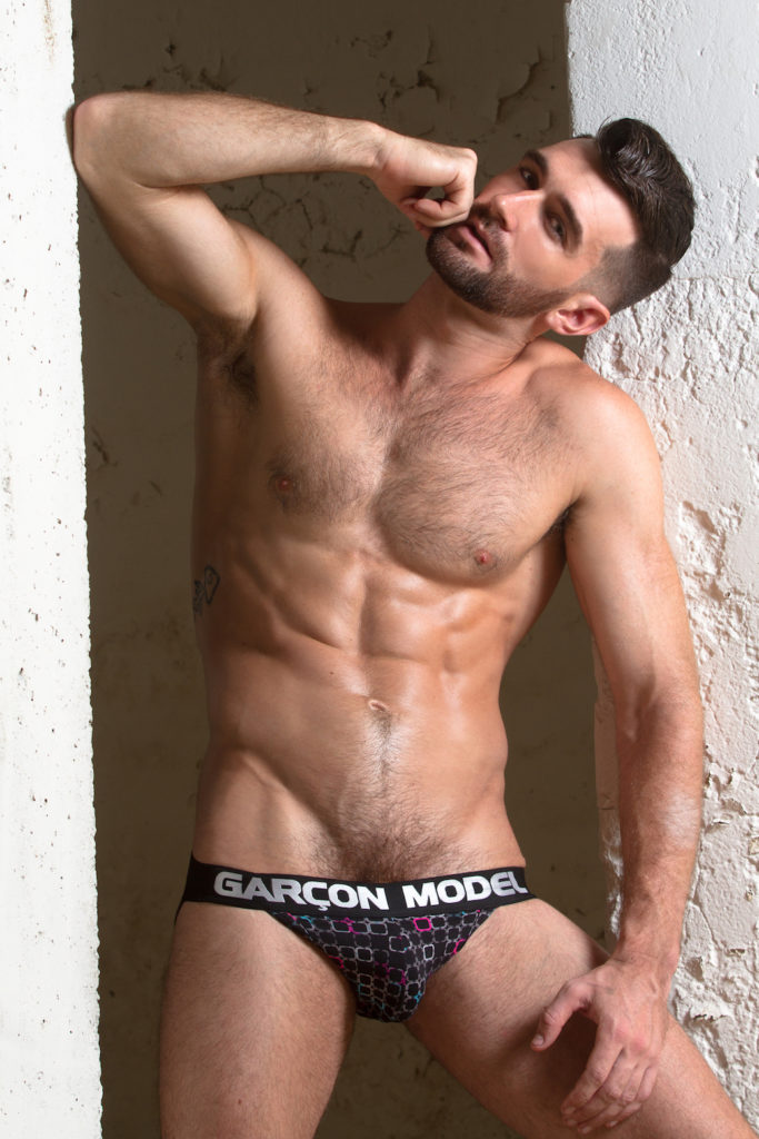 Woody Fox for Garçon Model. Photo: Andrew Stubbersfield (image supplied)