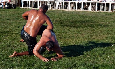 20110911 Oil wrestling Alantepe Rhodope Thrace Greece 2
