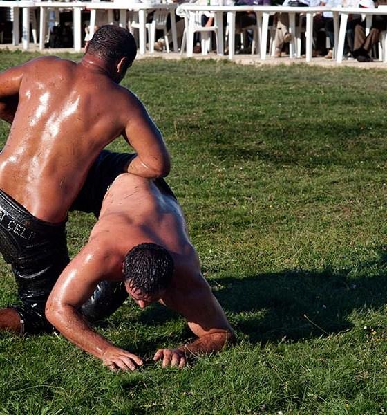 20110911 Oil wrestling Alantepe Rhodope Thrace Greece 2