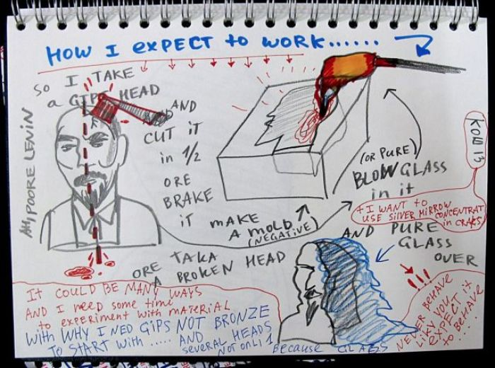Maria Koshenkova Frozen Leader sketch 1