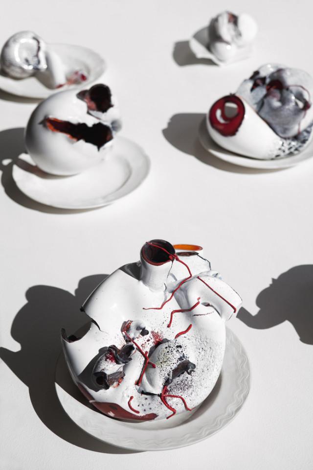 Maria Koshenkova White Hearts 2012 Substance