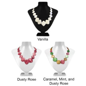 Oyster Bay Mother of Pearl Necklace Steals on the Real