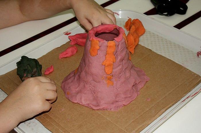 507_ujtgk0 Как сделать вулкан в домашних условиях. Макет вулкана своими руками из бумаги, монтажной пены и пластилина: мастер-классы с подробными инструкциями