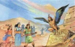 Historia con alas: 2 500 a.C. → 1 700