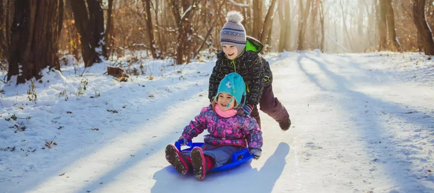 Best Places To Play In The Snow Near Los Angeles Mommy