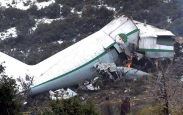 Algeria plane crash