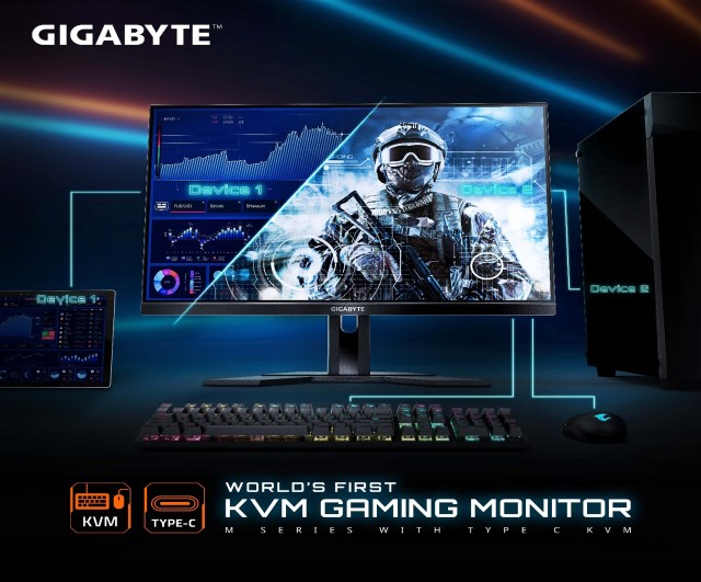 monitor Gaming terbaru KVM