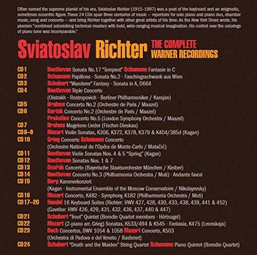 Photo No.2 of Sviatoslav Richter: Complete HMV & Teldec Recordings