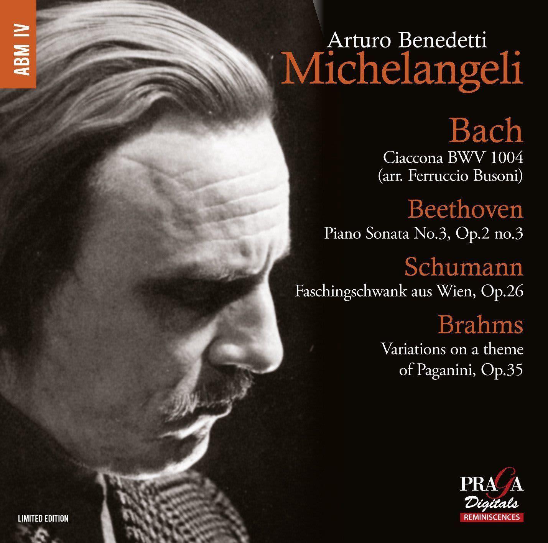 Photo No.1 of Michelangeli plays Bach, Beethoven, Schumann, Brahms