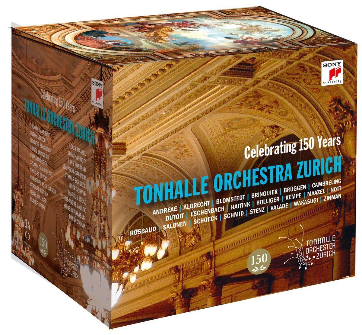Photo No.1 of Tonhalle Orchestra Zurich: 150 Years Celebration