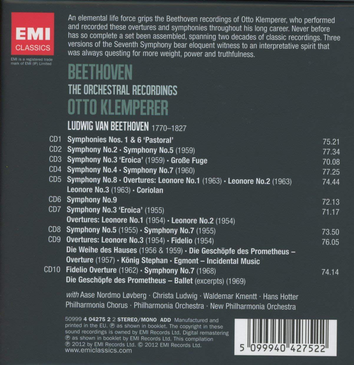 Photo No.2 of Beethoven: The Orchestral Recordings