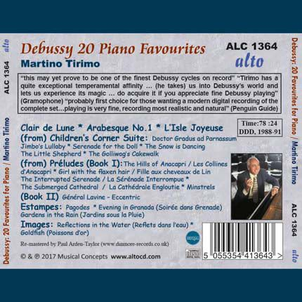 Photo No.2 of Debussy: 20 Favourites for Piano