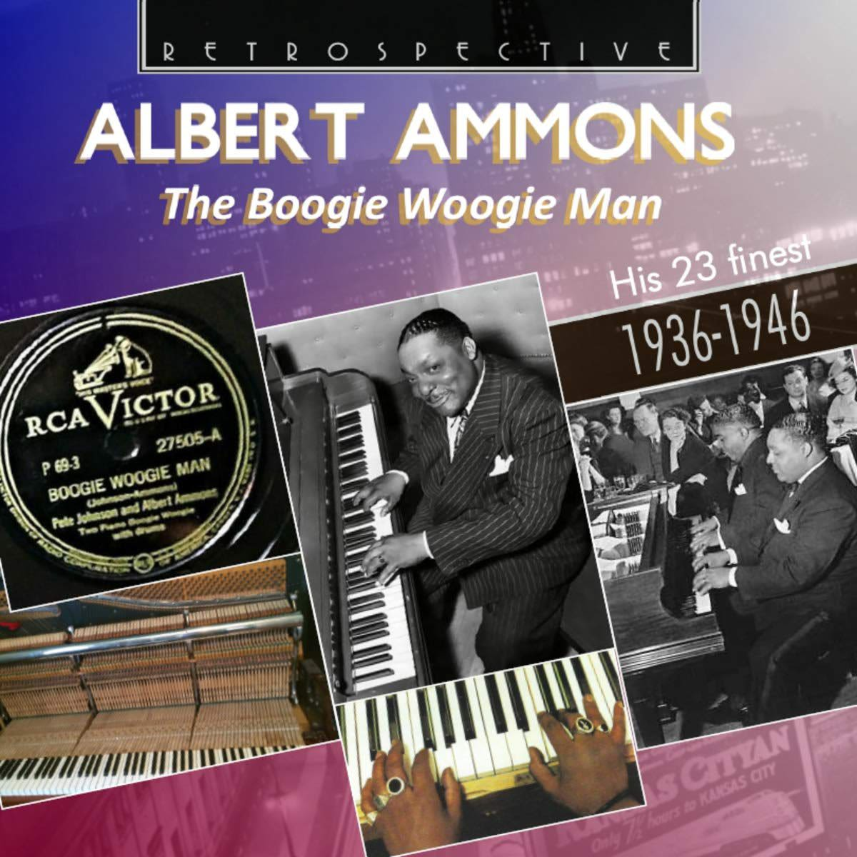Photo No.1 of Albert Ammons: The Boogie Woogie Man - His 23 Finest 1936-1946