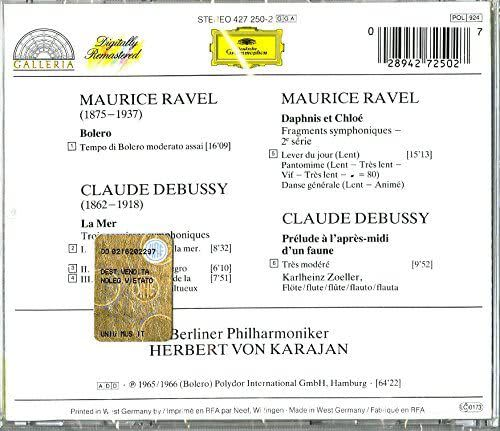 Photo No.2 of Ravel & Debussy: Orchestral Works