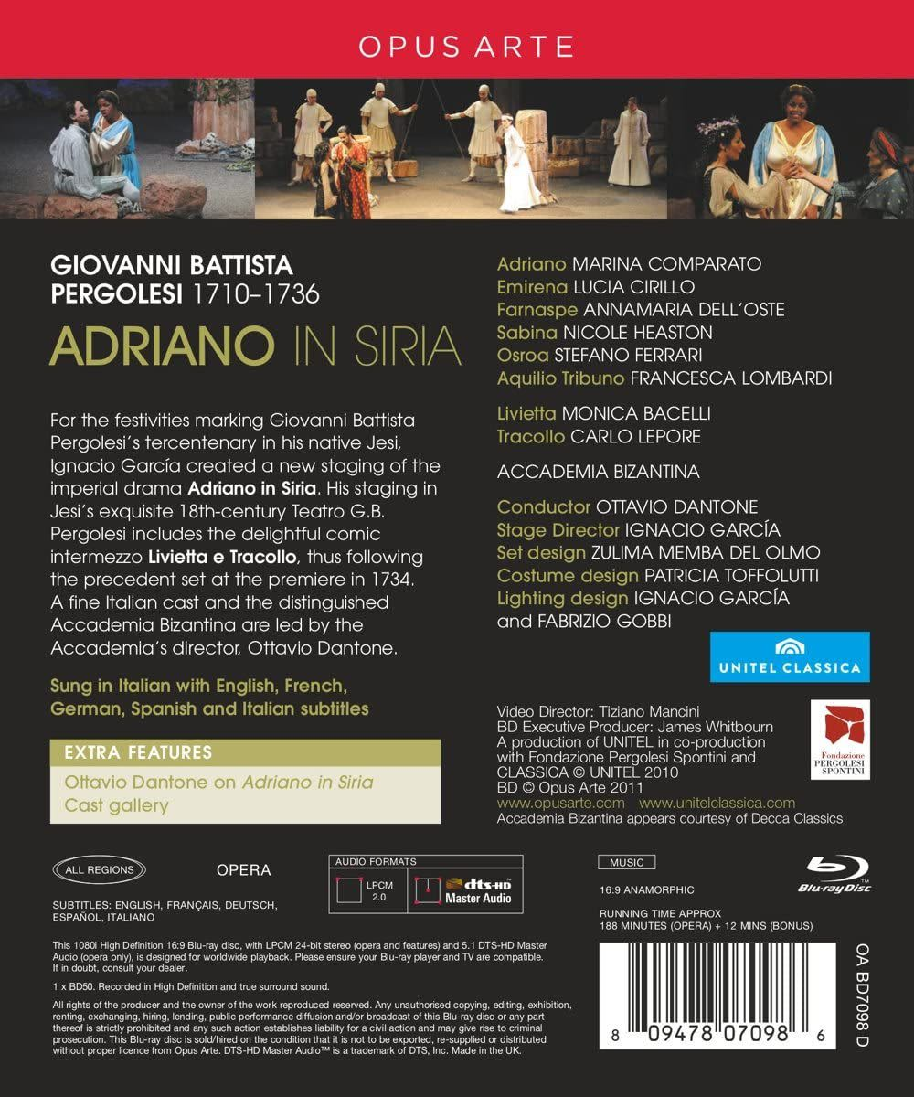 Photo No.2 of Pergolesi: Adriano in Siria