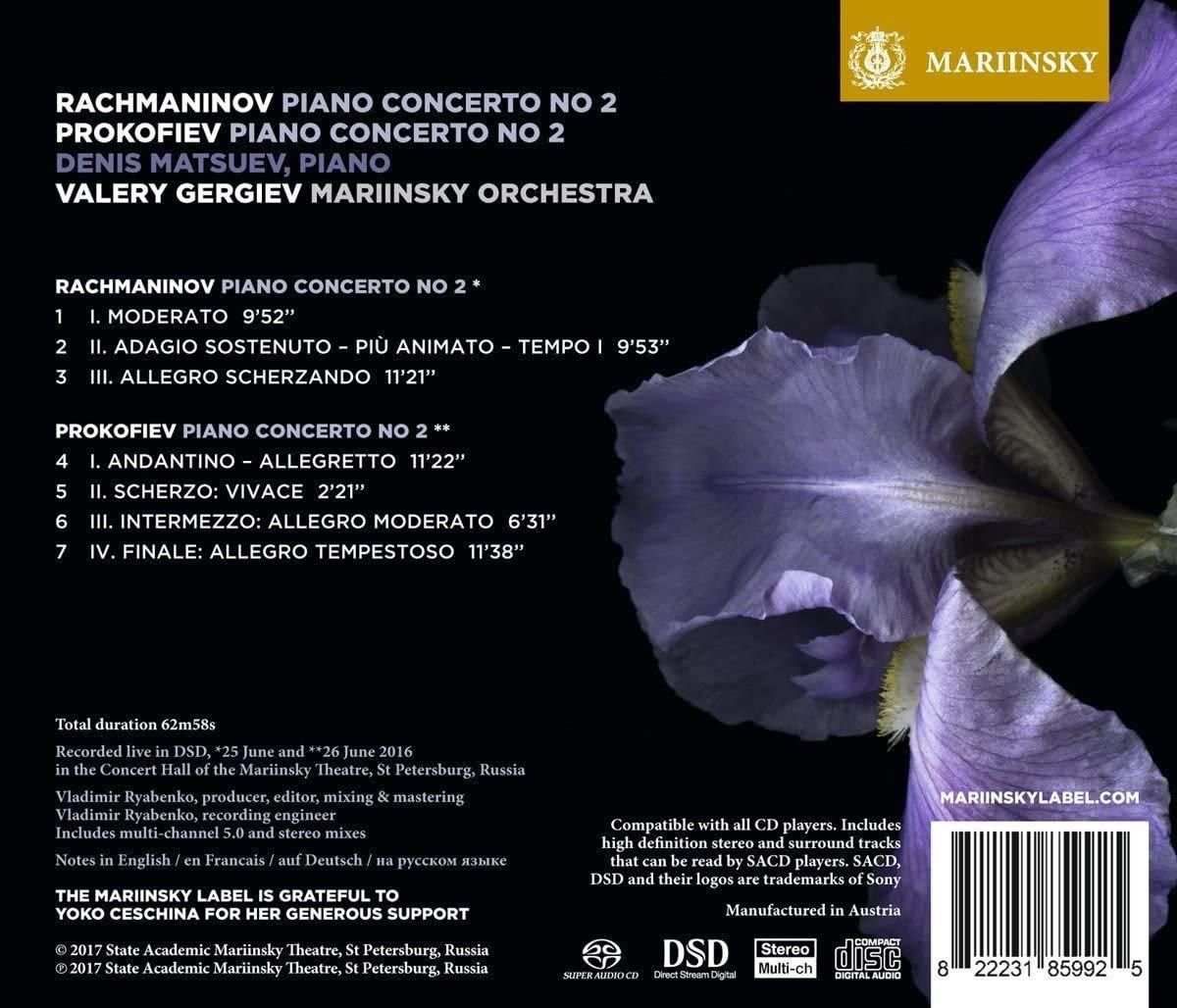 Photo No.2 of Rachmaninov & Prokofiev: Piano Concerto No. 2