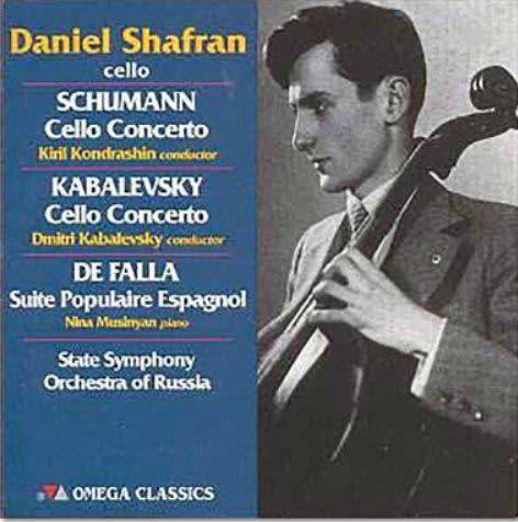 Photo No.1 of Shafran Plays Schumann, Kabalevsky, Haydn and Falla