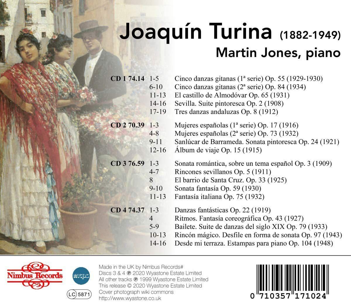 Photo No.2 of Joaquin Turina: Piano Works