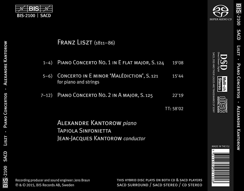 Photo No.2 of Liszt: Piano Concertos