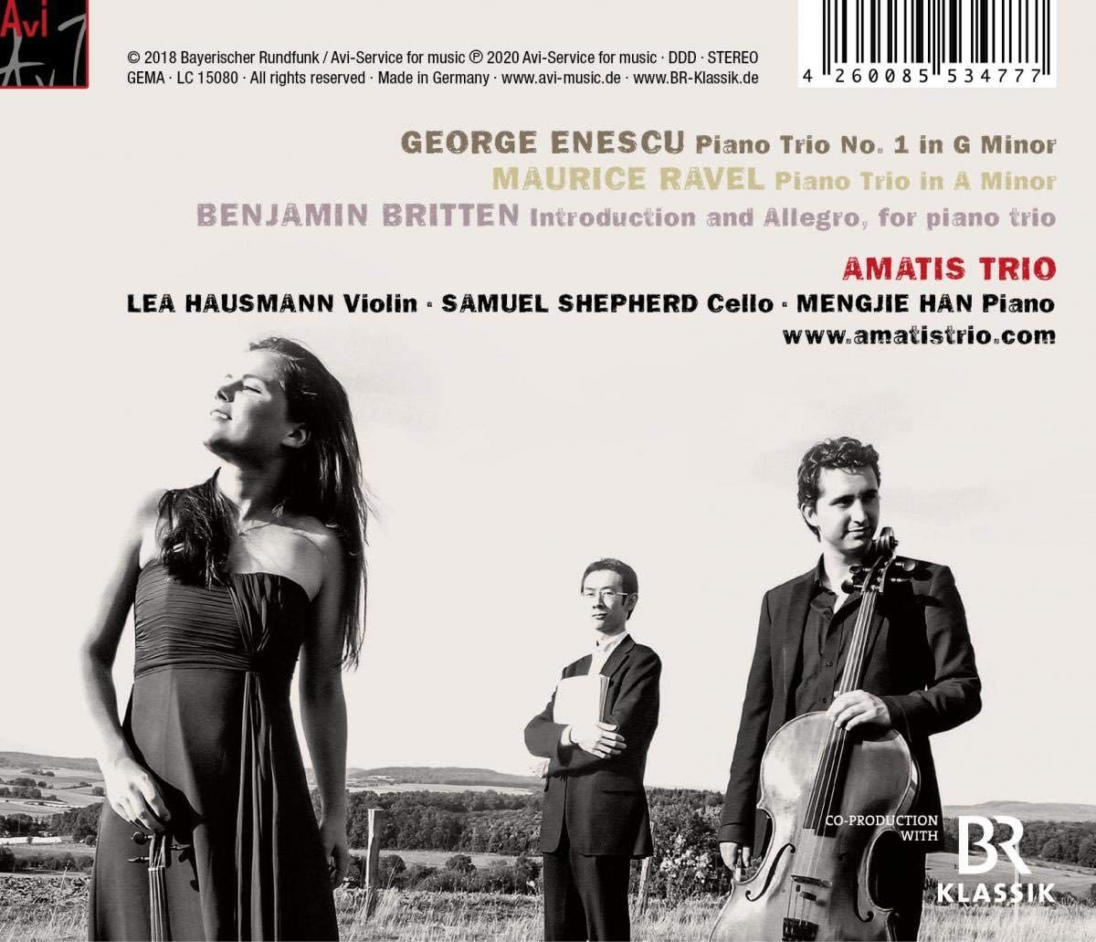 Photo No.2 of Piano Trios: Enescu, Britten & Ravel