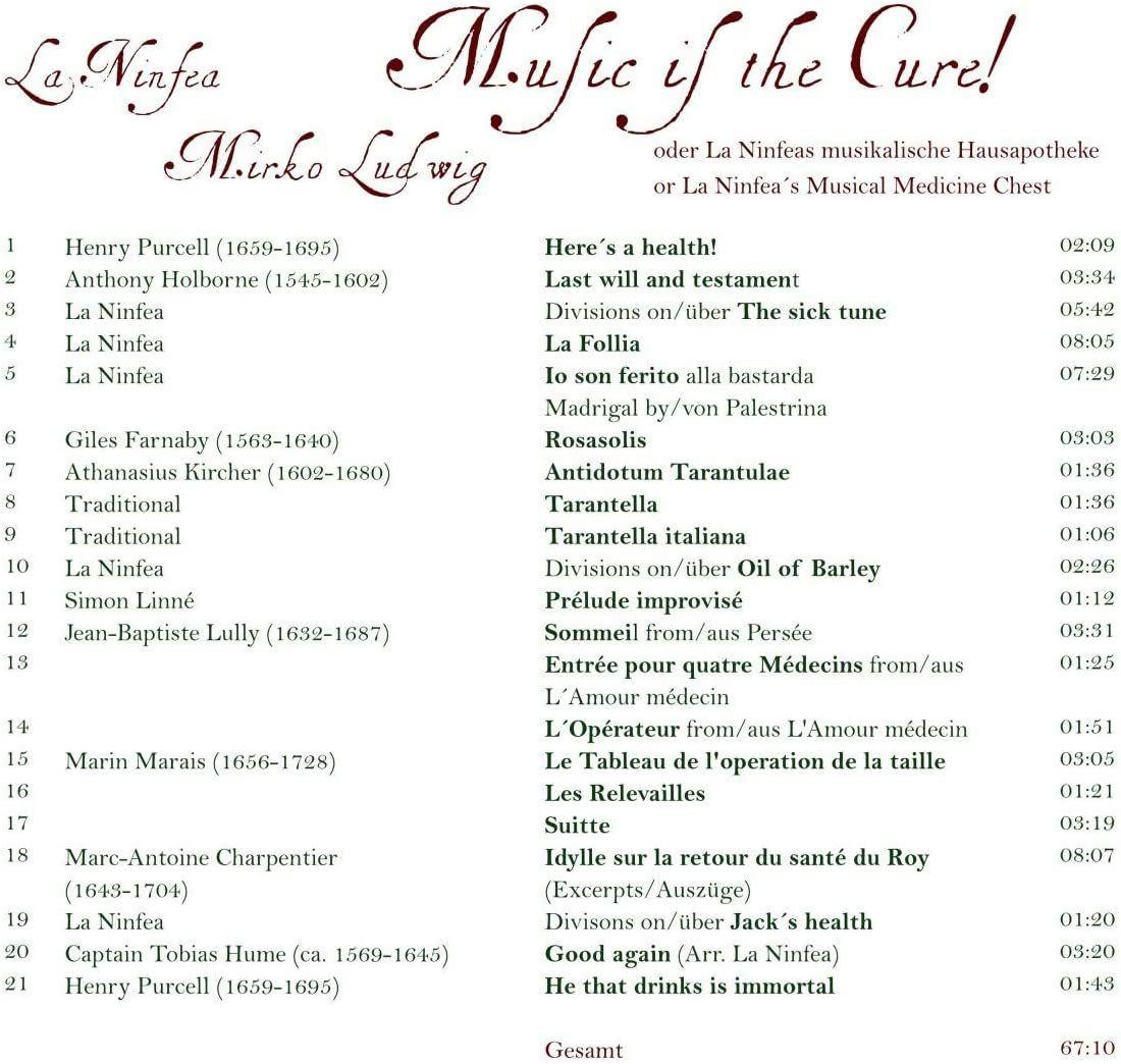 Photo No.2 of La Ninfea - Baroque songs and instrumental music