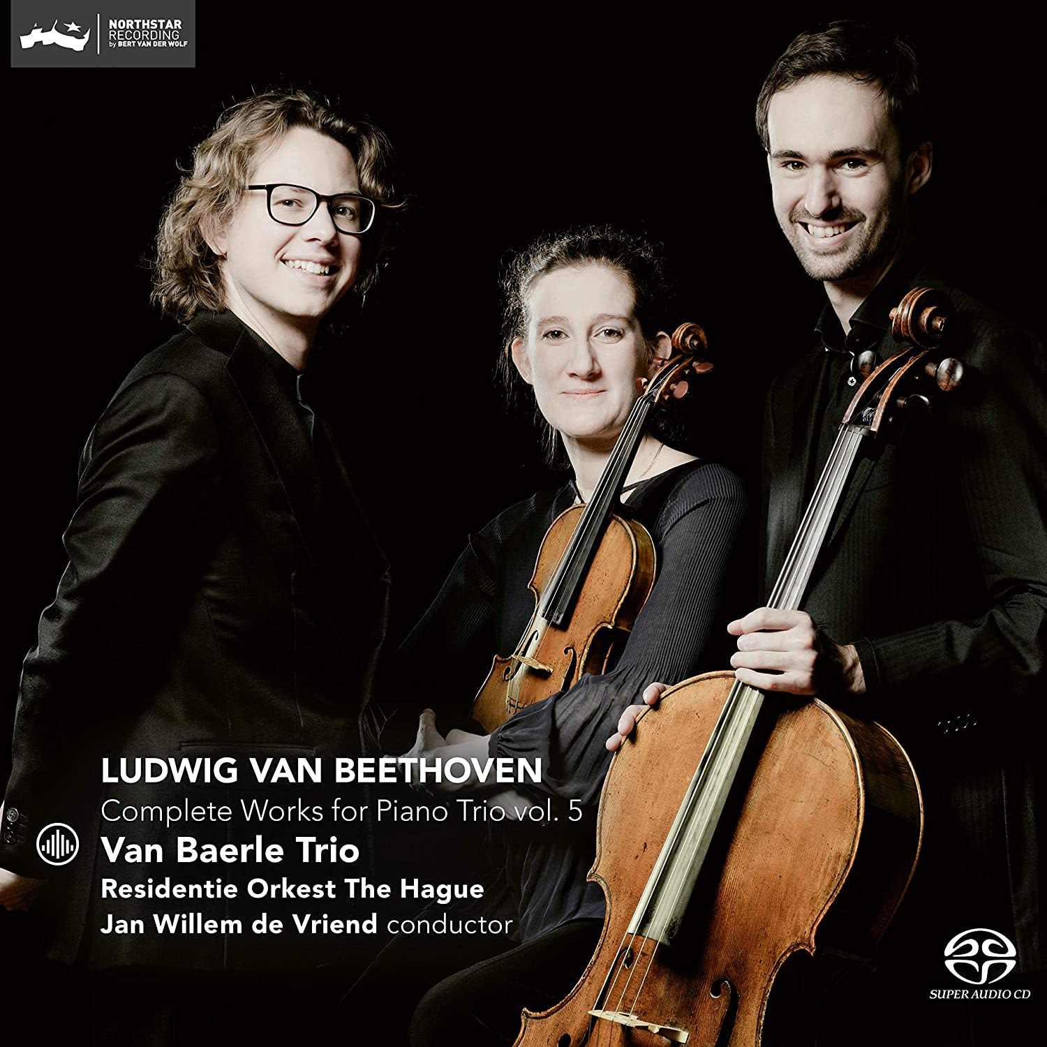 Photo No.1 of Beethoven: Complete Works For Piano Trio, Vol. 5