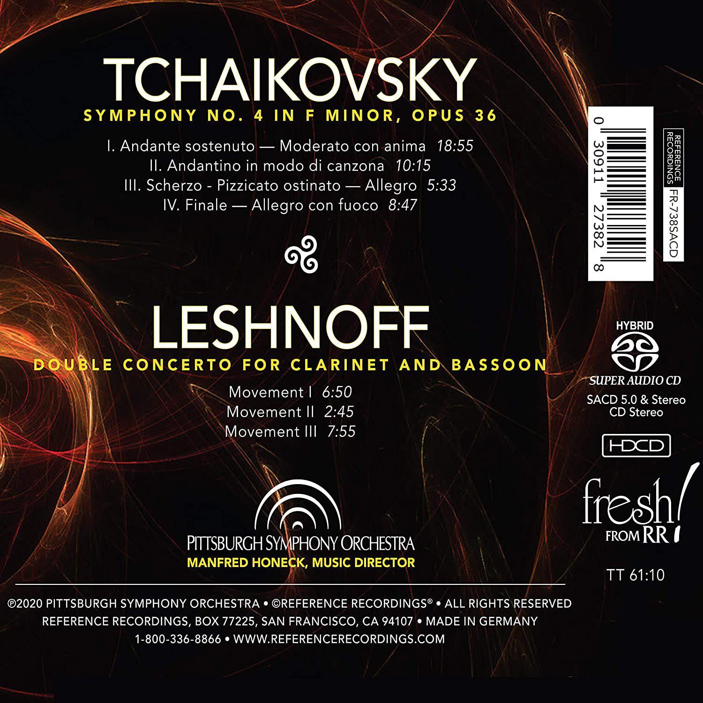 Photo No.2 of Tchaikovsky: Symphony No. 4 & Leshnoff: Double Concerto