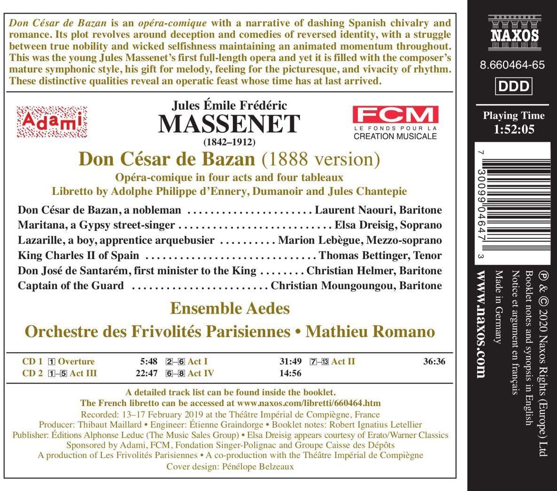 Photo No.2 of Massenet: Don César de Bazan