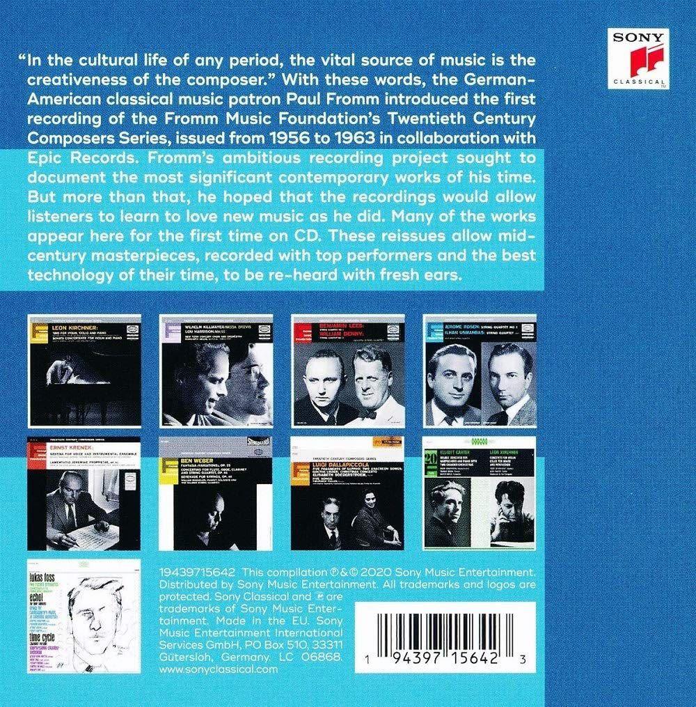 Photo No.2 of Fromm Music Foundation - Twentieth Century Composer Series