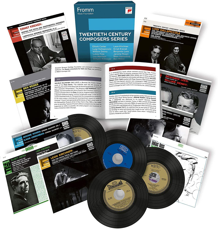 Photo No.3 of Fromm Music Foundation - Twentieth Century Composer Series