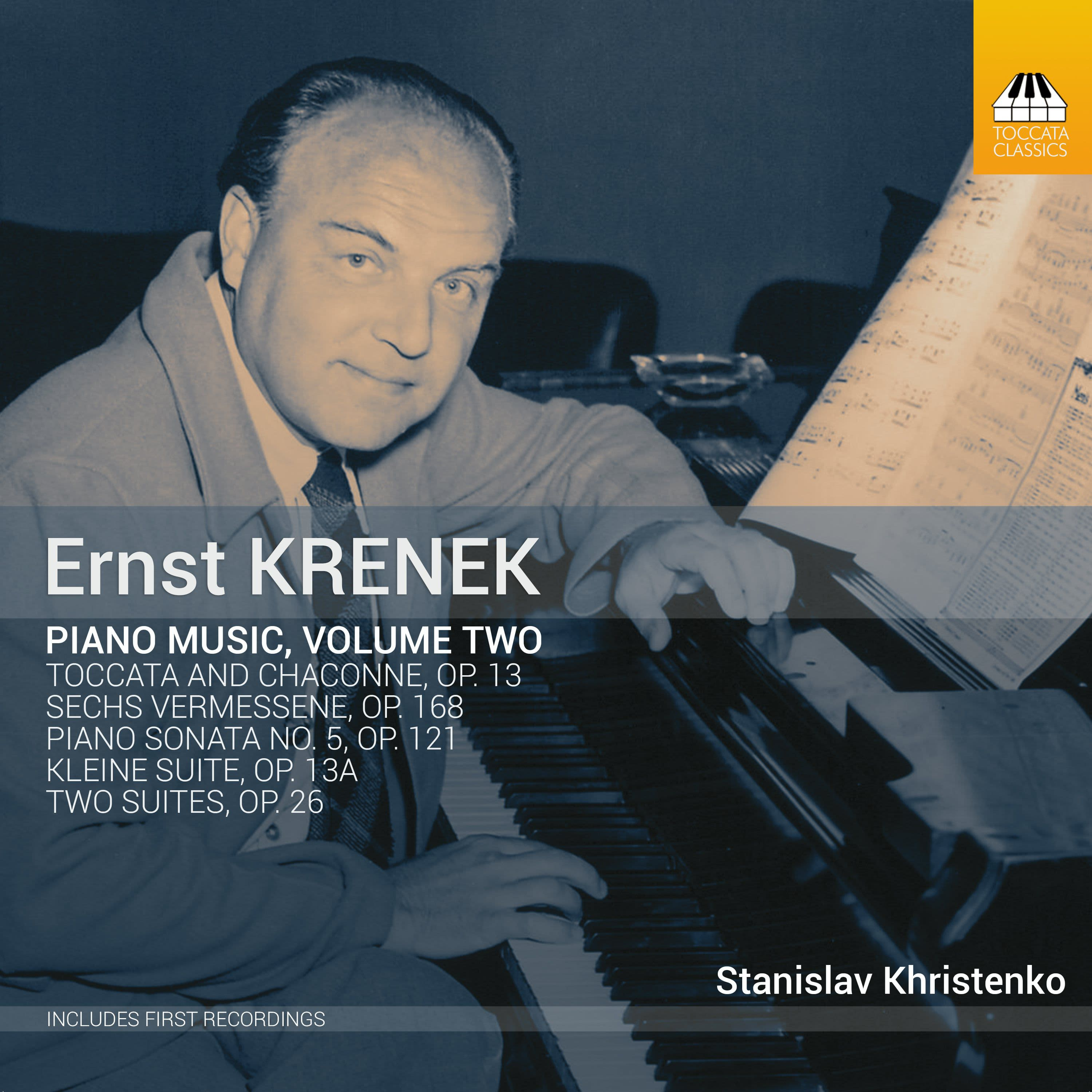 Photo No.1 of Ernst Krenek: Piano Music, Volume Two