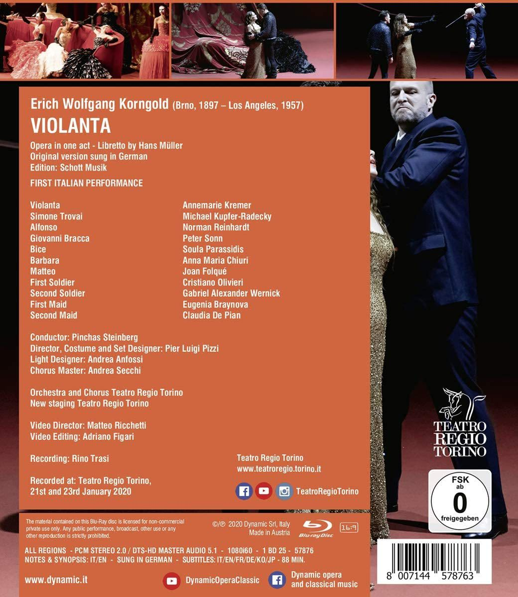 Photo No.2 of Korngold: Violanta