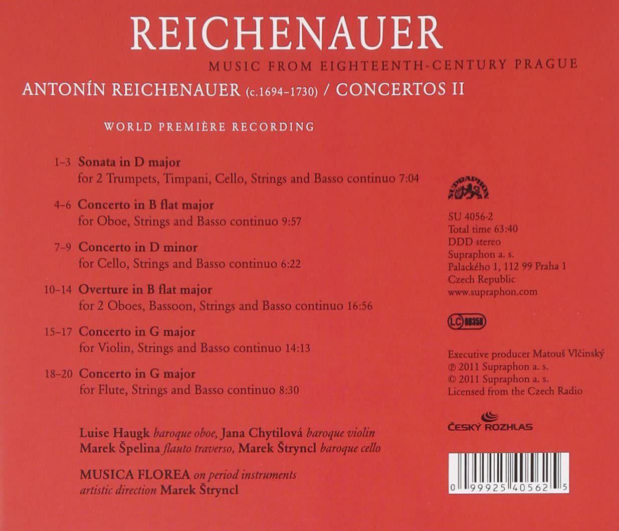Photo No.2 of Antonín Reichenauer: Concertos 2