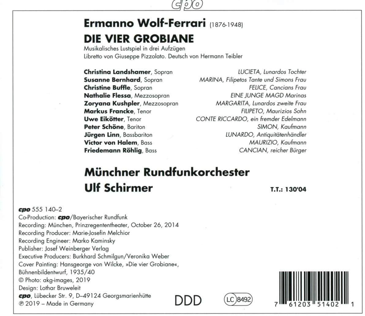 Photo No.2 of Wolf-Ferrari: Die vier Grobiane
