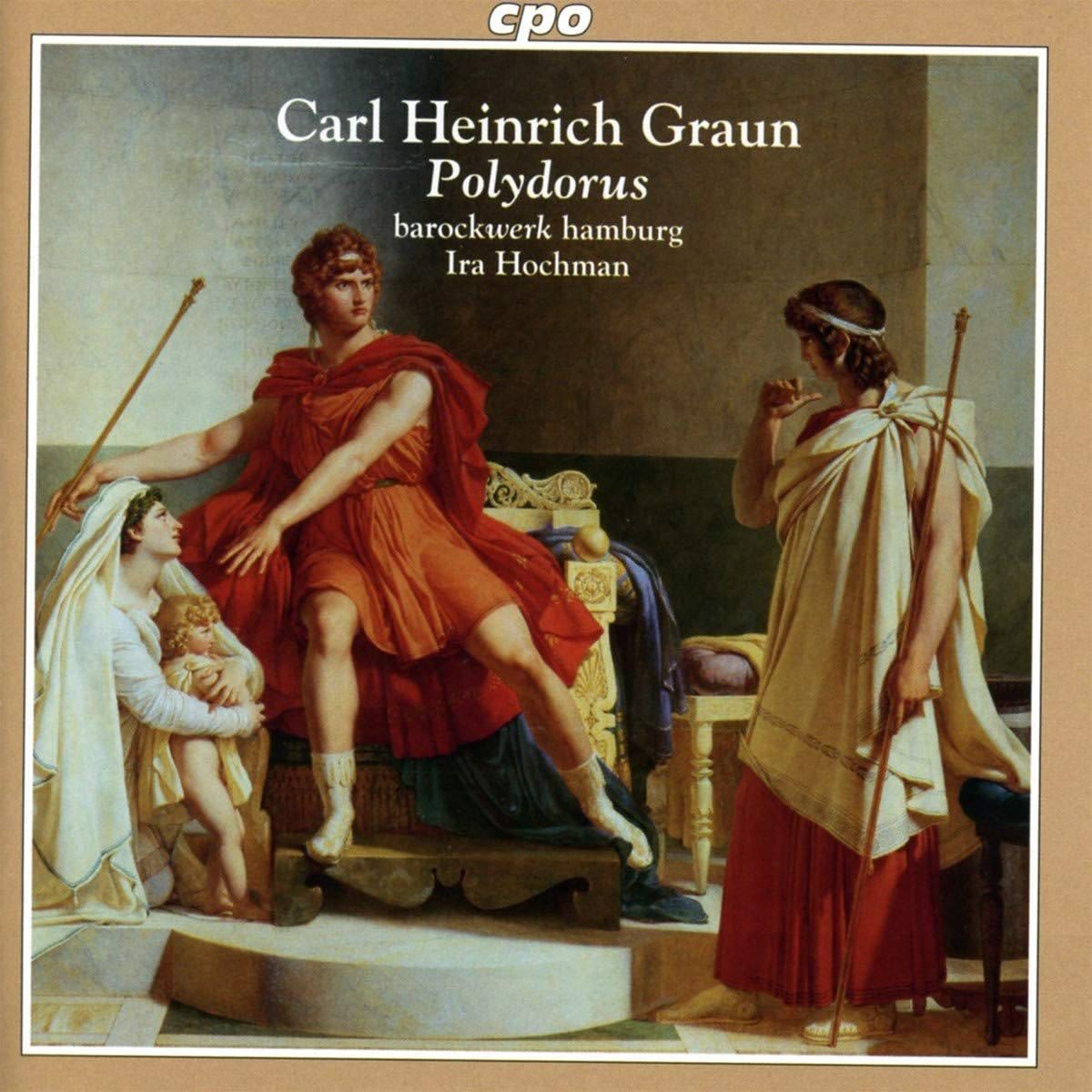 Photo No.1 of Carl Heinrich Graun: Polydorus