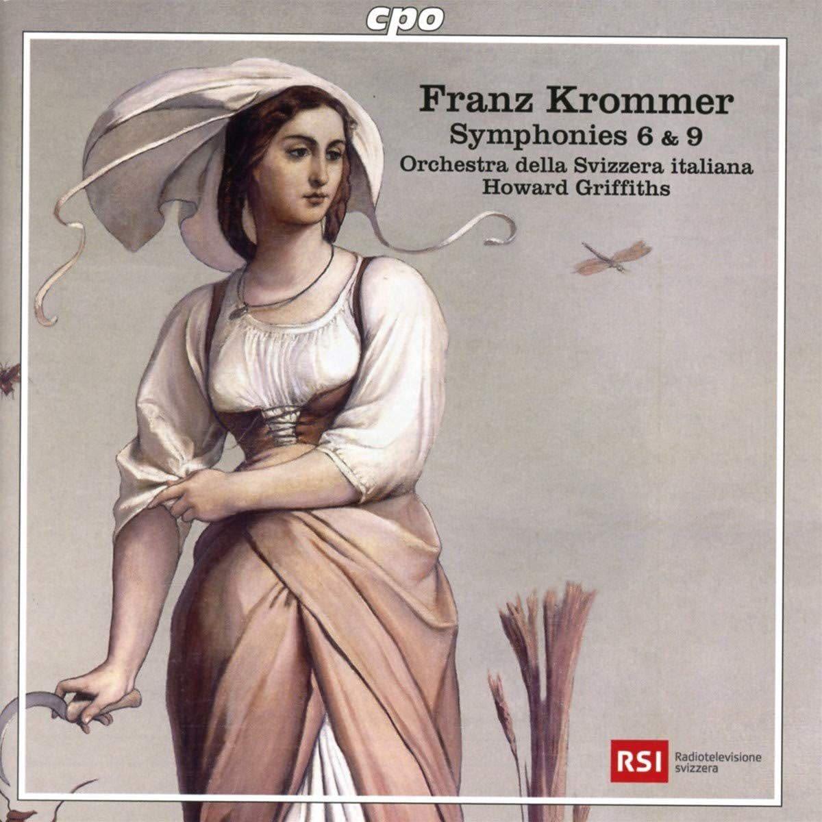 Photo No.1 of Franz Krommer: Symphonies 6 & 9