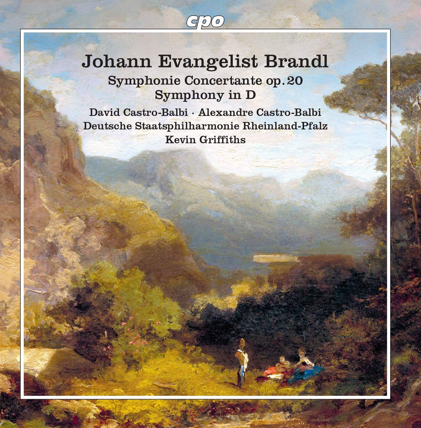 Photo No.1 of Brandl: Symphony Concertante, Symphony in D major