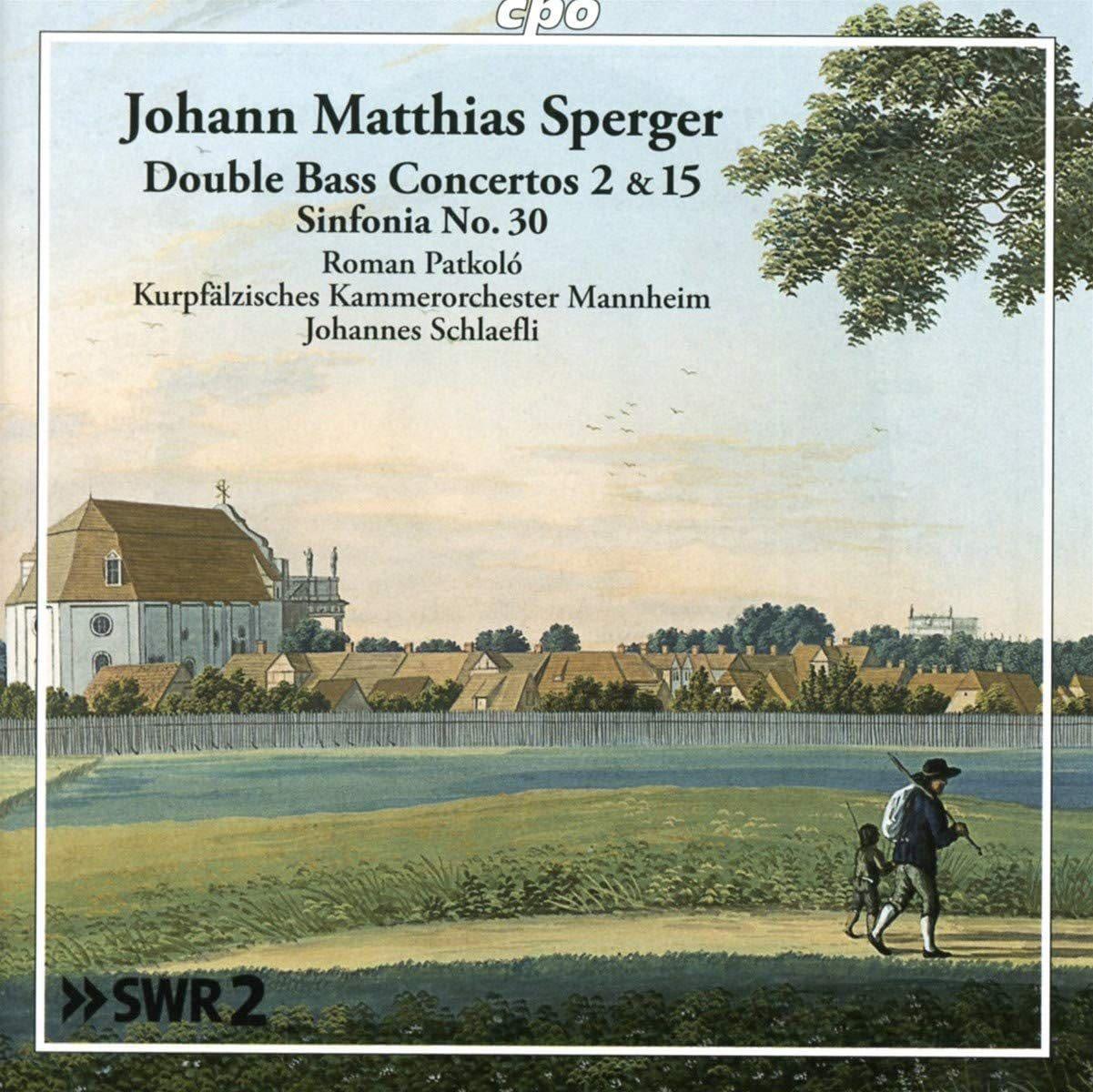 Photo No.1 of Sperger: Double Bass Concertos Nos. 2 & 15 & Sym No. 30