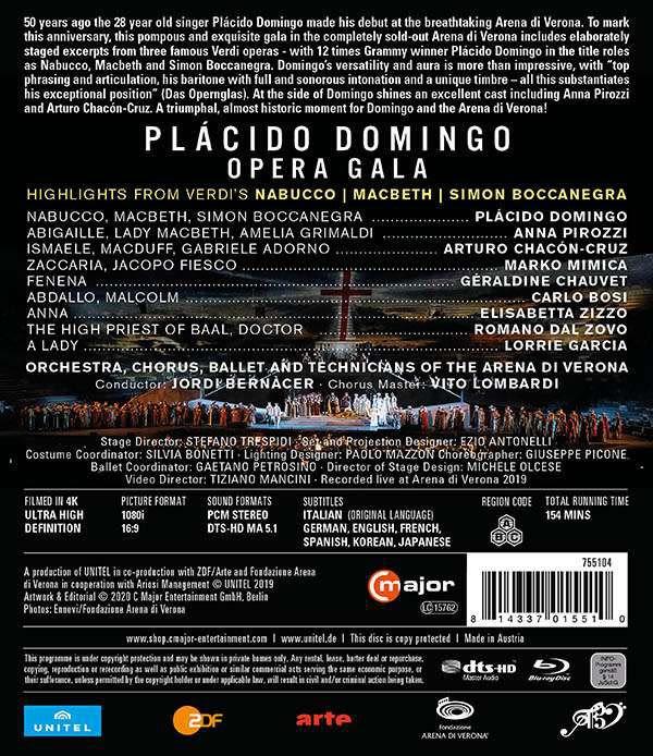 Photo No.2 of Placido Domingo - Opera Gala