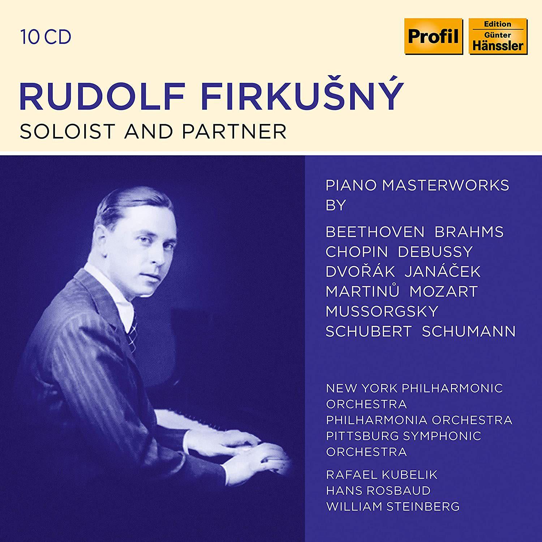 Photo No.1 of Rudolf Firkušný - Soloist and Partner