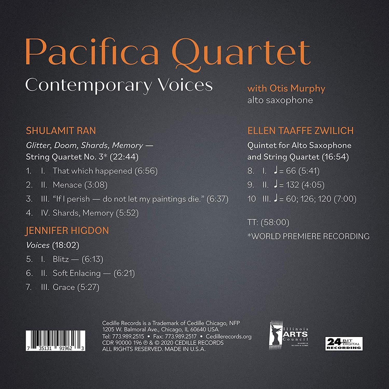 Photo No.2 of Contemporary Composers String Quartets