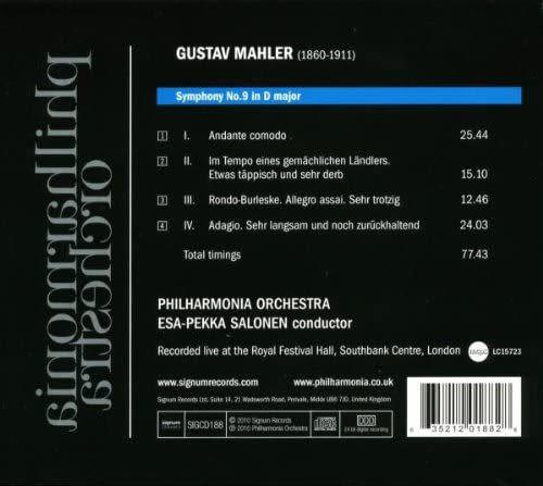 Photo No.2 of Mahler: Symphony No. 9