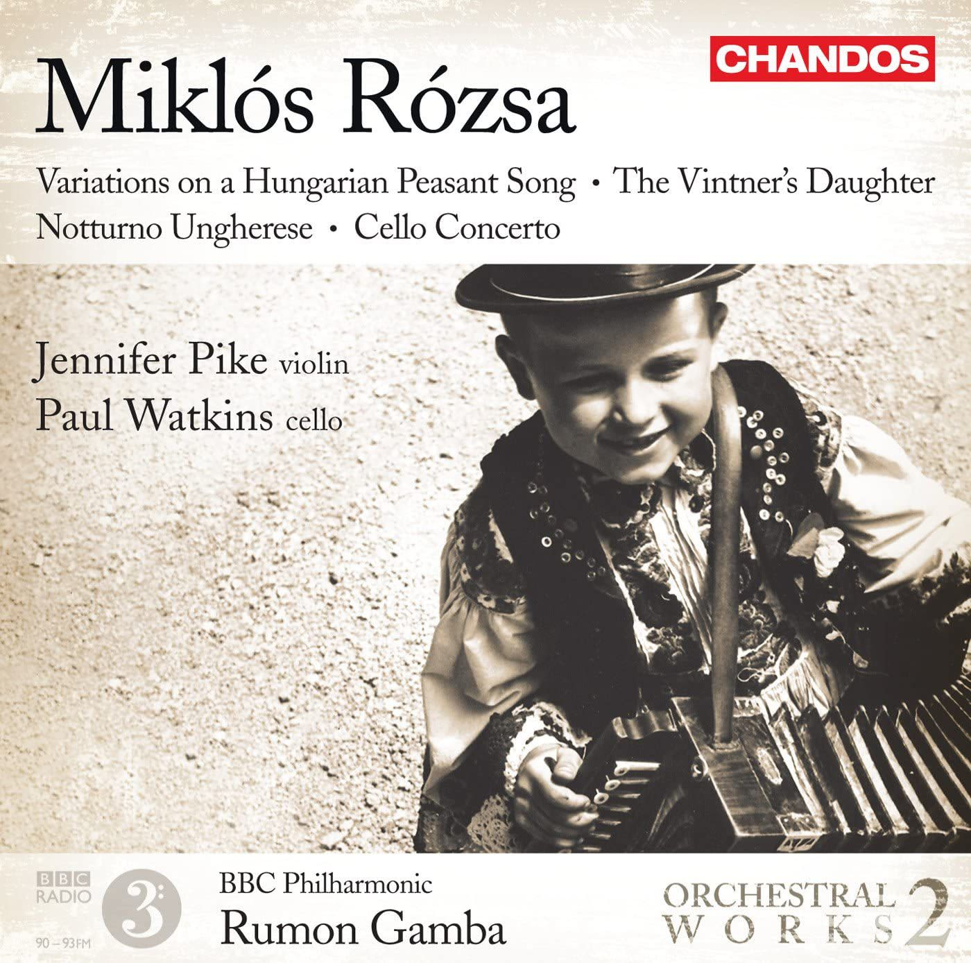 Photo No.1 of Miklós Rózsa: Orchestral Works Volume 2