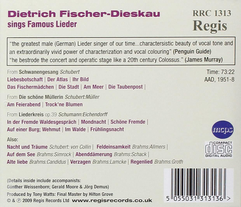 Photo No.2 of Dietrich Fischer-Dieskau Sings Lieder