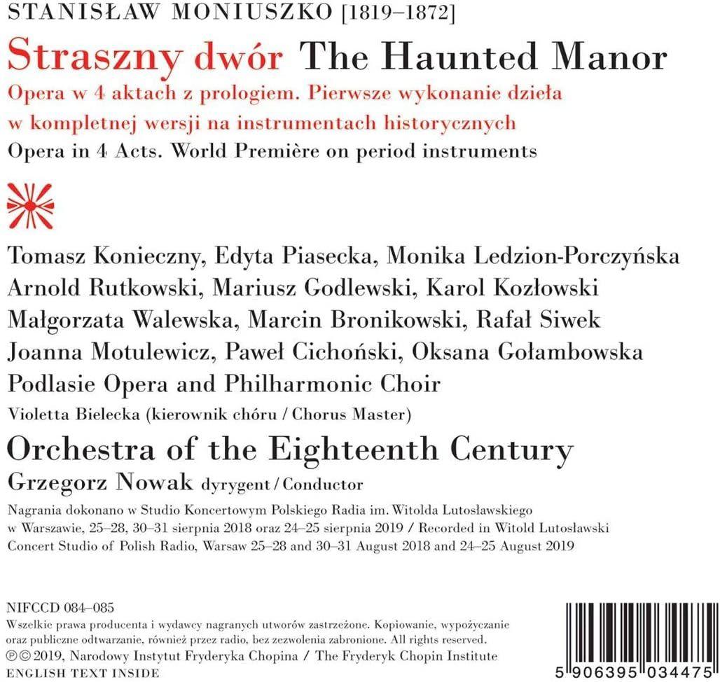 Photo No.2 of Moniuszko: Straszny dwvor (The Haunted Manor)